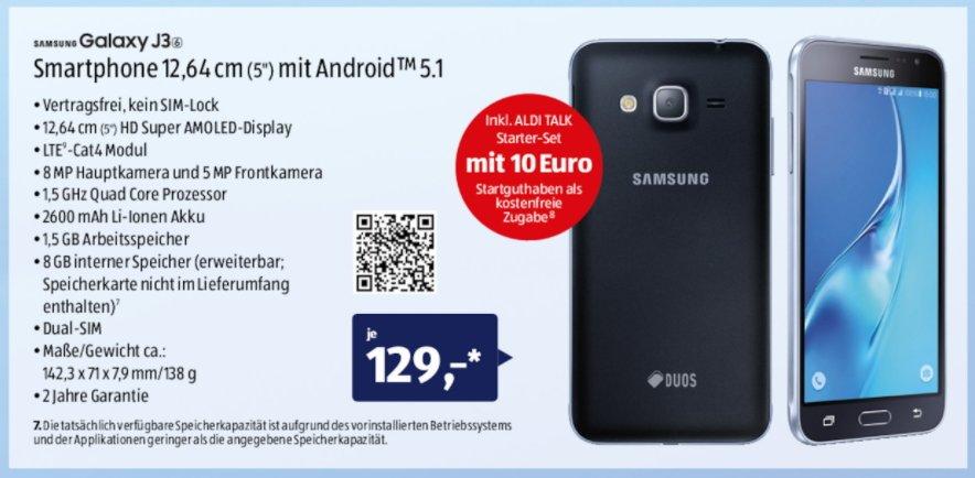 Aldi-Handy-Samsung-Galaxy-J3-2016
