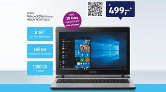 Aldi-Laptop: Medion Akoya E6436 ab morgen für 499 Euro – lohnt sich das Angebot?