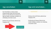 Apps auf SD-Karte verschieben (ab Android 6) – bebilderte Anleitung