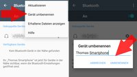 Android: Bluetooth-Namen ändern (bebilderte Anleitung)