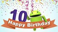 Zum 10. Geburtstag: Welches war euer erstes Android-Smartphone?
