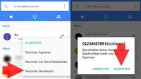Android: Kontakt blockieren – so geht's