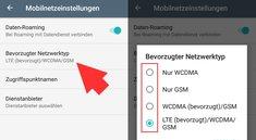 Android: Netzwerktyp ändern (bebilderte Anleitung)