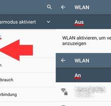 Android-Gerät mit WLAN verbinden (bebilderte Anleitung)