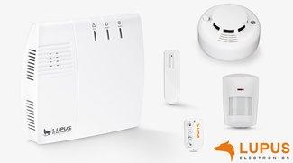 Gewinne ein Smart Home Alarmsystem von LUPUS-Electronics!