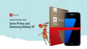 Gewinne das Dream-Team: Avira Prime und Samsung Galaxy S7