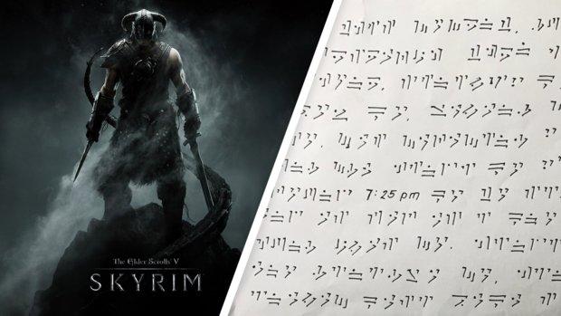 Skyrim: Nach zwei Jahren entschlüsselt ein Typ endlich den Brief seiner Ex