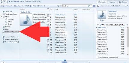 CD rippen: So einfach geht's mit dem Windows Media Player
