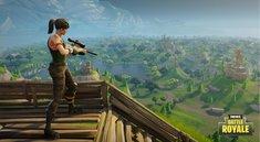 Fortnite: Spieler gelingt der ultimative Kill, während er auf einer Rakete surft