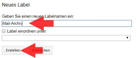 gmail ordner erstellen
