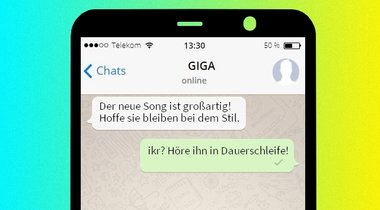 whatsapp chat faken iphone