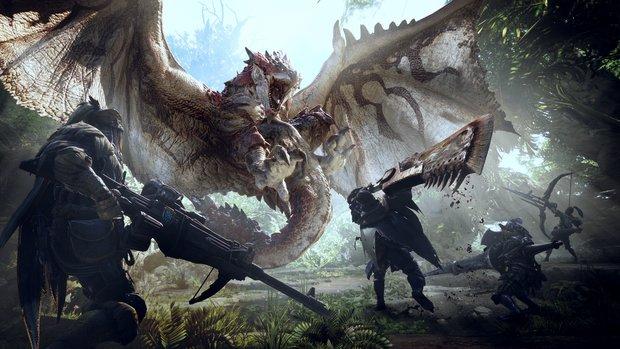 Monster Hunter World in der Vorschau: 16 Stunden in freier Wildbahn