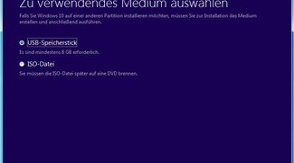 Windows-10-USB-Stick mit Media Creation Tool erstellen
