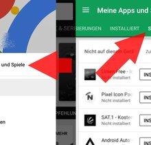 Apps und Spiele aus dem Play-Store-Verlauf entfernen