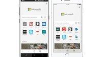 Microsoft Edge: Neuer Smartphone-Browser sagt Chrome und Safari den Kampf an