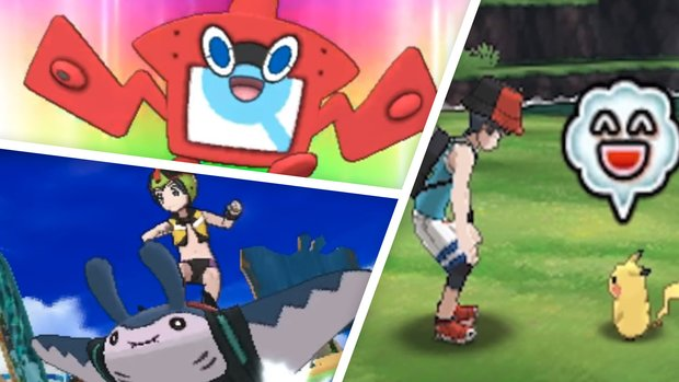 Pokémon Ultrasonne und Ultramond: Alle neuen Features im Video