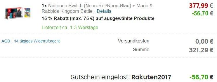 Rakuten.de-Nintendo-Switch-Bundle-Checkout