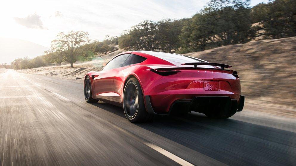 Tesla,Roadster,Sportwagen,Elektroauto