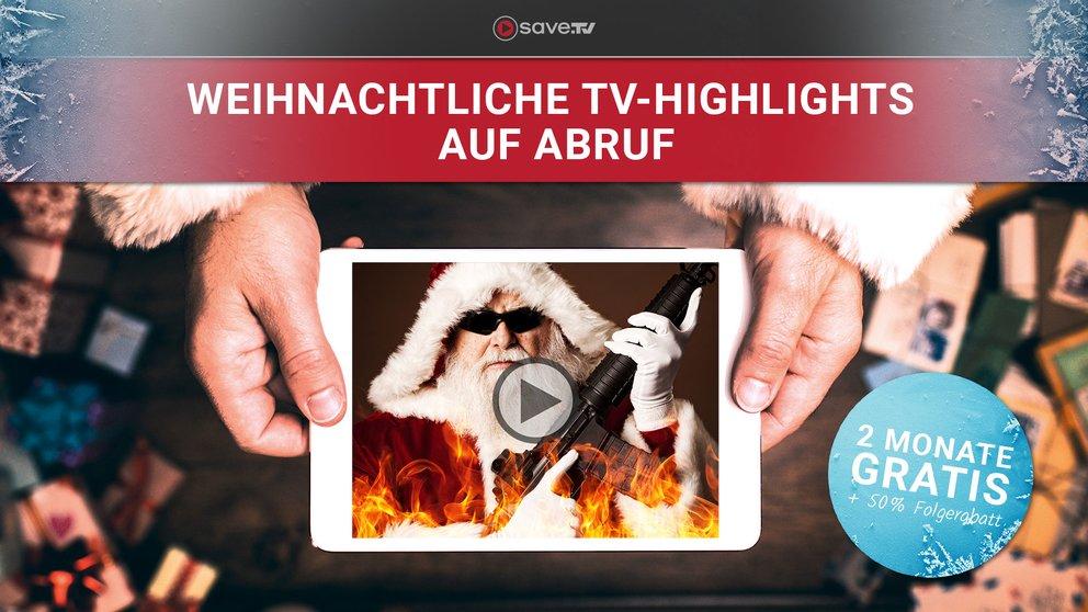 Mega-Angebot zu Weihnachten: Online-Videorekorder Save.TV XL 2 Monate gratis testen + 50 % Rabatt