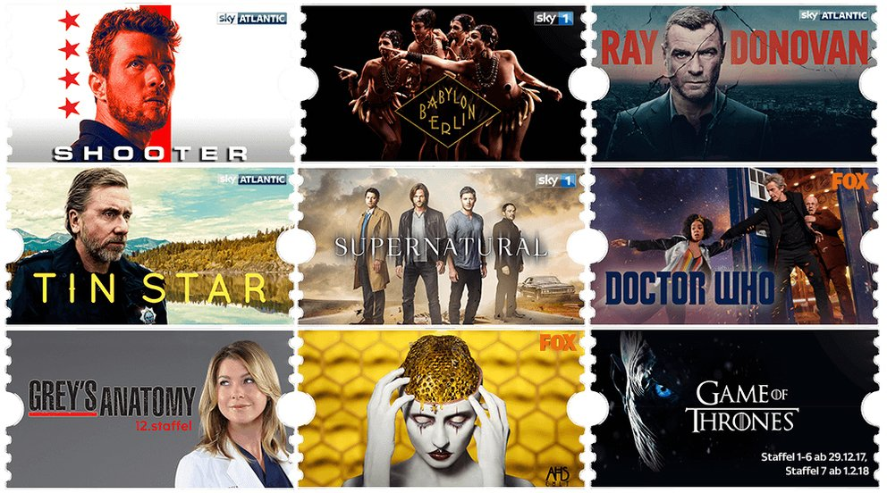 Sky Entertainment Ticket Angebot: 3 Monate für einmalig 4,99 €