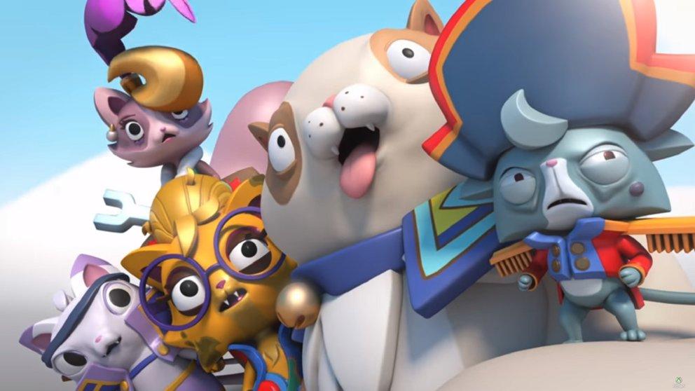 Kämpfe in Super Lucky's Tale gegen Jinx und seine böse Katzen-Bande.