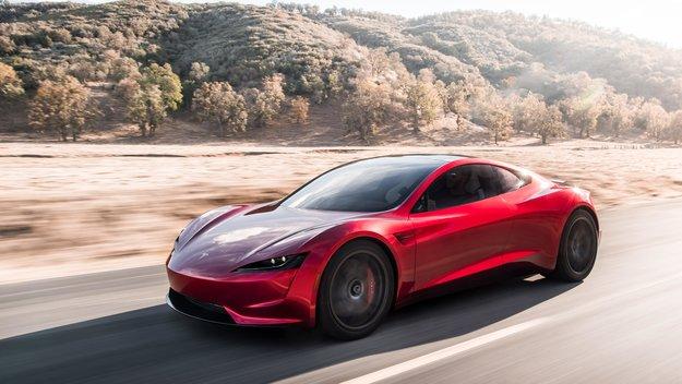 Tesla Roadster: Porsche und Ferrari haben keine Chance beim Sprint-Duell