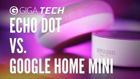 Amazon Echo Dot und Google Home Mini ...