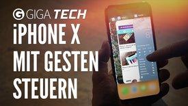 iPhone X mit Gesten steuern