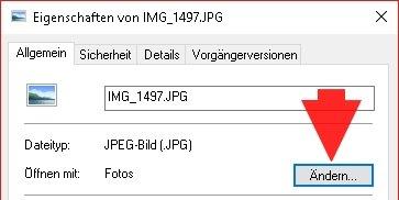 Windows-Fotoanzeige in Windows 10 Eigenschaften 02