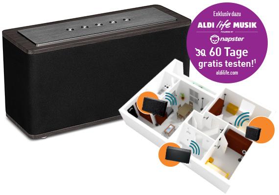 aldi multiroom lautsprecher medion x61002 f r 79 99 euro lohnt sich der kauf giga. Black Bedroom Furniture Sets. Home Design Ideas