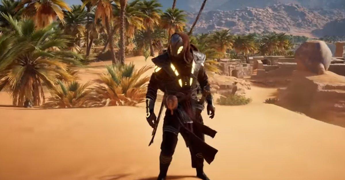 Assassinu2019s Creed u2013 Origins Isu-Ru00fcstung und bestes Outfit freischalten u2013 GIGA