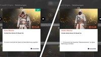 Assassin's Creed - Origins: Ezio- und Altair-Outfit freischalten - so geht's