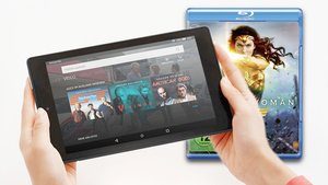 Amazon: Countdown zur Cyber Monday-Woche mit Amazon Fire Tablets, DC-Filme, WISO Software
