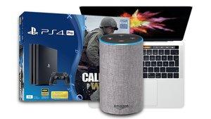 Amazon: Cyber Monday-Woche mit Amazon Echo, Apple MacBooks, Playstation 4 und mehr