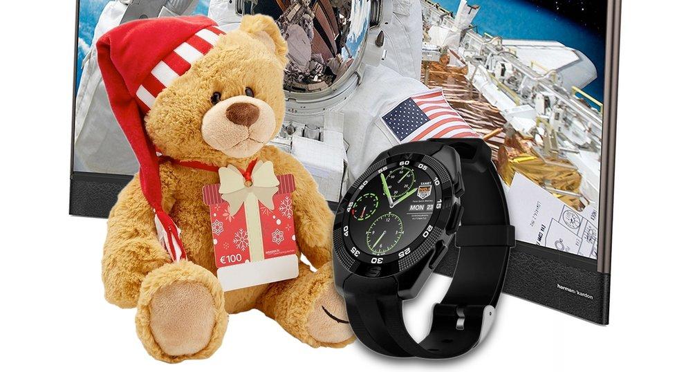 amazon angebote gratis teddyb r curved tv smartwatch g nstiger giga. Black Bedroom Furniture Sets. Home Design Ideas