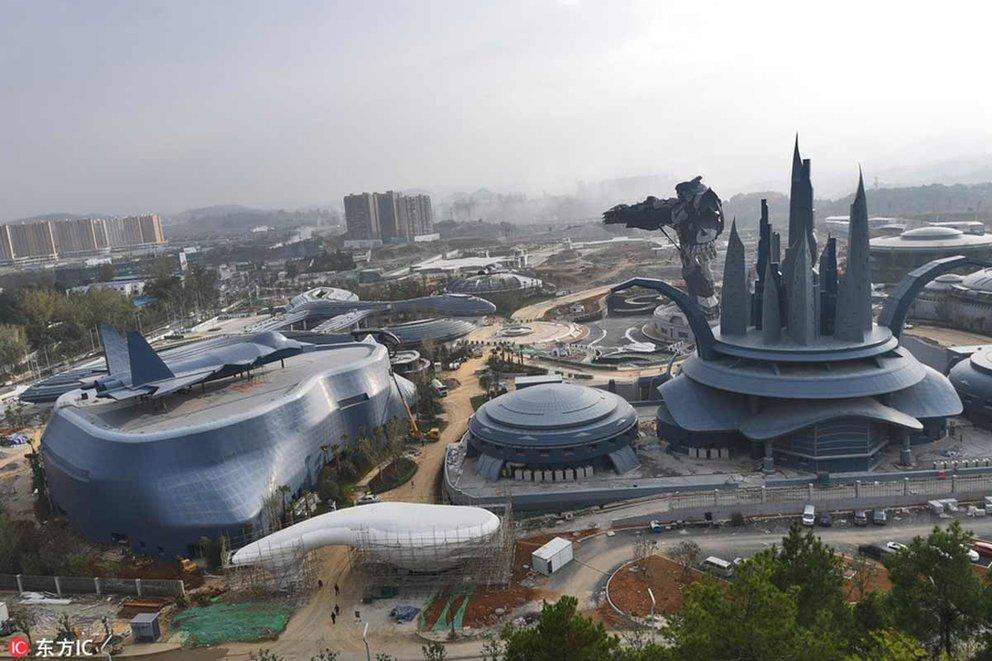 Virtual Reality-Park für 1,5 Milliarden Dollar eröffnet schon im Dezember