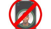 iPhone X: Face ID deaktivieren & zurücksetzen – so geht's