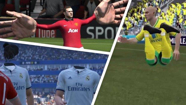Die lustigsten und nervigsten Glitches in FIFA