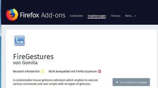 Firefox 57 mit alten Addons nutzen – geht das? (Browser, Internet)