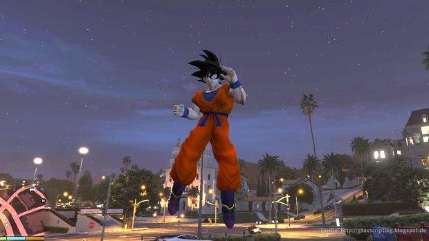 GTA 5: Mit dieser Mod fühlst du dich endlich wie ein richtiger Saiyajin