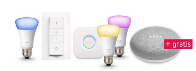 google_home_mini_philips_hue_white_and_color_ambiance_e27_3er_starter_set_inkl._dimmschalter_original_white