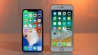 Akku-Drosselung: So stark sind iPhone 8 und iPhone X betroffen