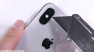 iPhone-X-Härtetest enthüllt eine gravierende Schwäche