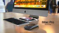 Geniale Idee: iMac-Standfuß wird zur Ladematte fürs iPhone X