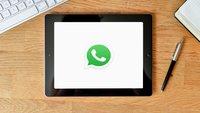 WhatsApp auf dem iPad – so geht's