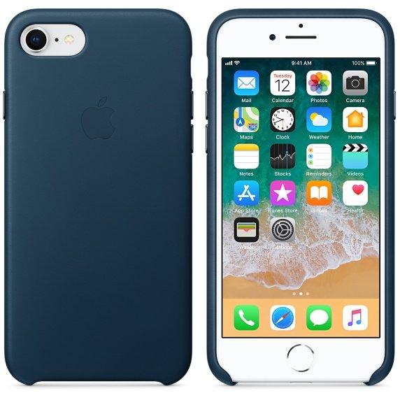 iPhone 8 / 7 Leder Case (Quelle: Apple)