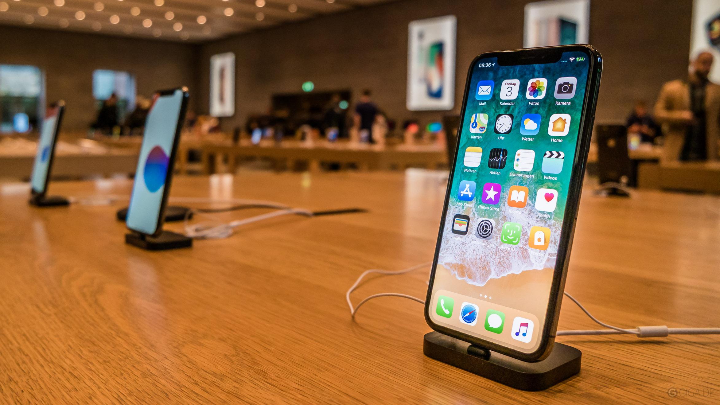 iphone x apple store news 1 q giga