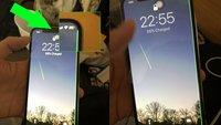 iPhone X: Grüner Strich auf dem Display schockt Besitzer