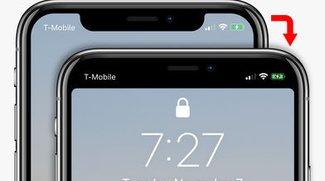 """iPhone X: """"Notch-Kerbe"""" entfernen – so geht's"""