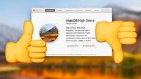 So zuverlässig läuft macOS High Sierra